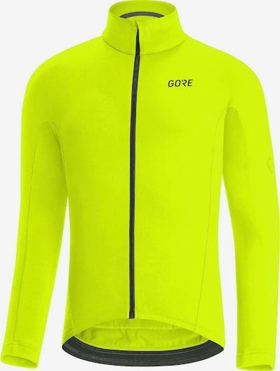 GORE WEAR Fahrradtrikot in gelb / schwarz, Produktansicht