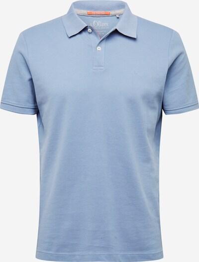 s.Oliver T-Shirt en bleu fumé, Vue avec produit