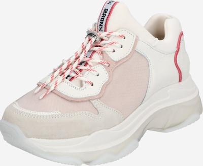 rózsaszín / fehér BRONX Rövid szárú edzőcipők, Termék nézet
