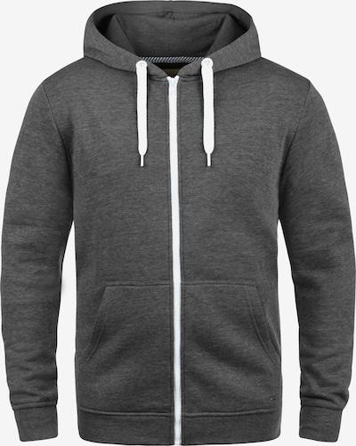 !Solid Kapuzensweatjacke 'Olli ZipHood' in grau, Produktansicht