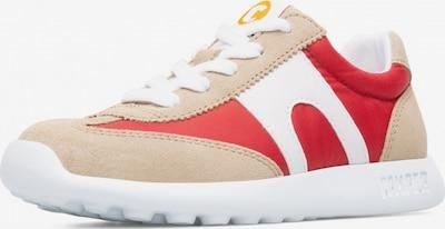 CAMPER Sneakers 'Driftie' in de kleur Beige / Rood / Wit, Productweergave