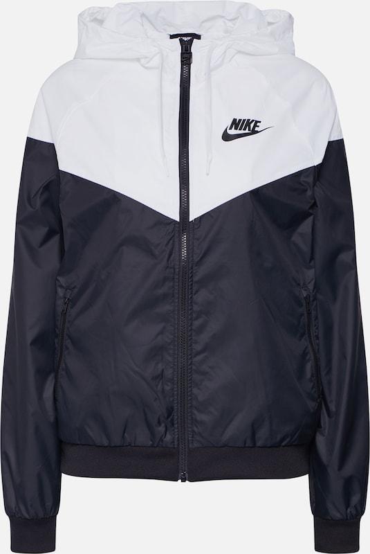 En Sportswear Veste Nike saison Mi NoirBlanc n80wmvON