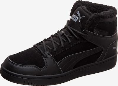 PUMA Sneaker 'Rebound LayUp SD Fur' in basaltgrau / schwarz, Produktansicht