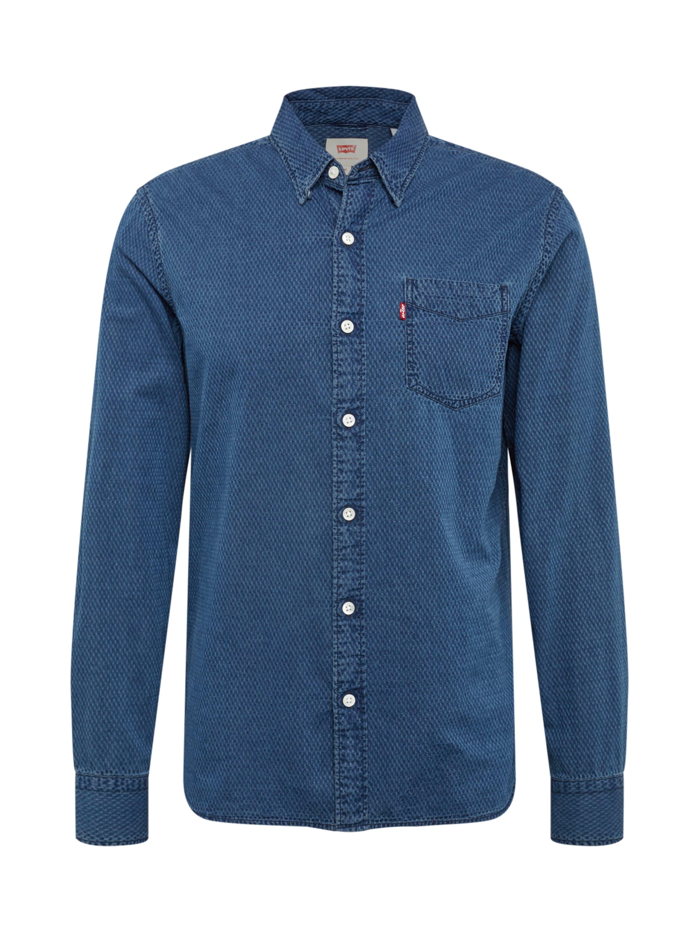 Levi's 'sunset1pocketshirt' Bleu Chemise Denim En cjRq35AL4