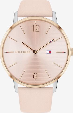 TOMMY HILFIGER Analog Watch 'Alex 1781973' in Pink