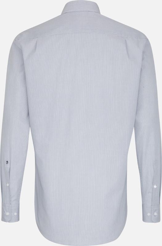 In Seidensticker Seidensticker Overhemd Overhemd In Zakelijk DuifblauwWit Zakelijk DuifblauwWit 0OPkX8ZNnw