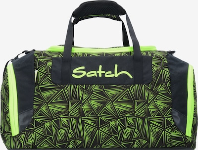 Satch Tasche in neongrün / schwarz, Produktansicht