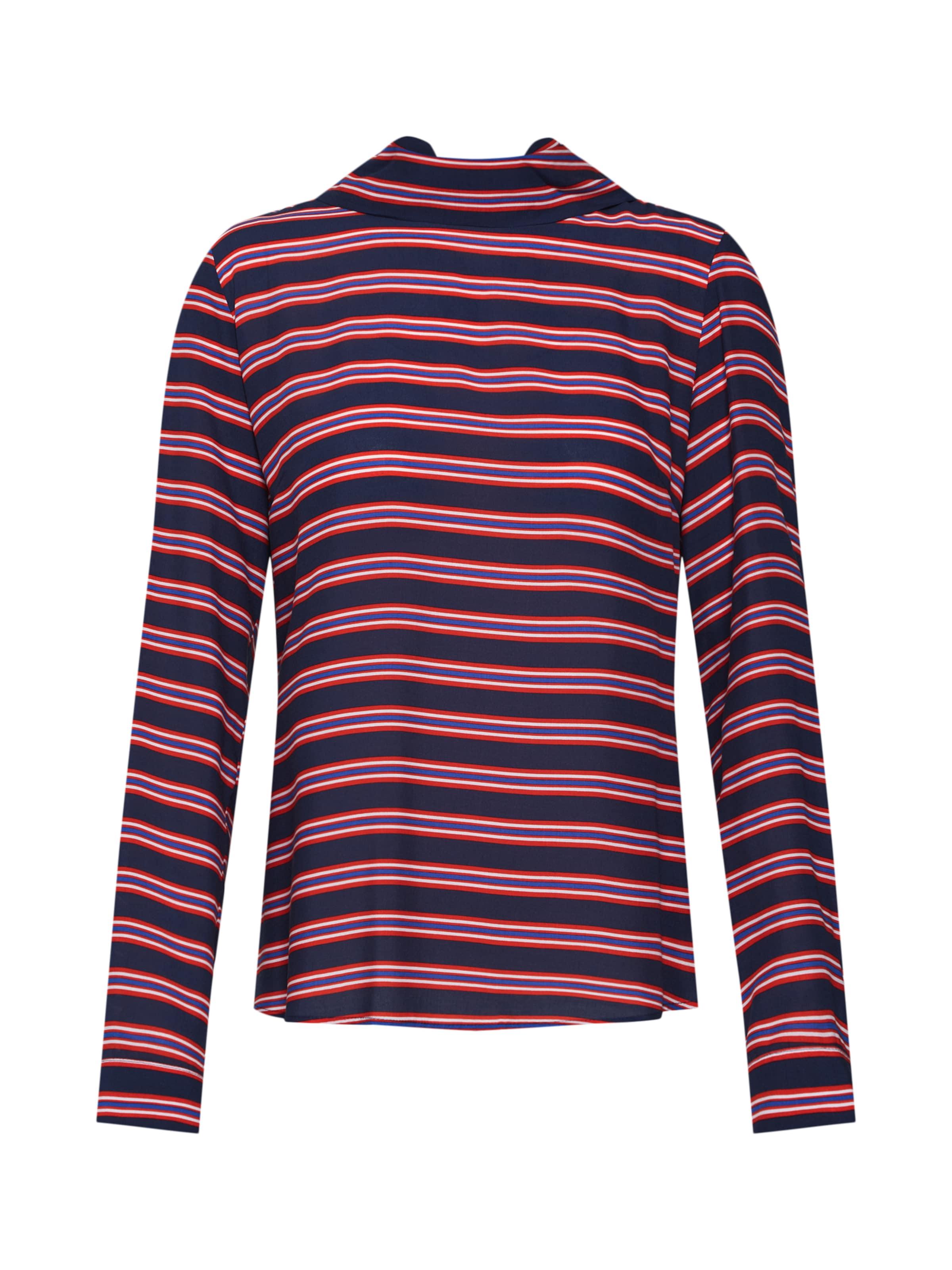 Bluse Van Den In Emily Bergh BlauRot 6yf7gvbY