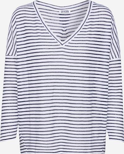 DRYKORN Tričko 'VENJA' - černá / bílá, Produkt