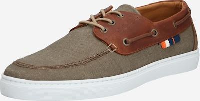 BULLBOXER Športni čevlji z vezalkami | bež / rjava barva, Prikaz izdelka