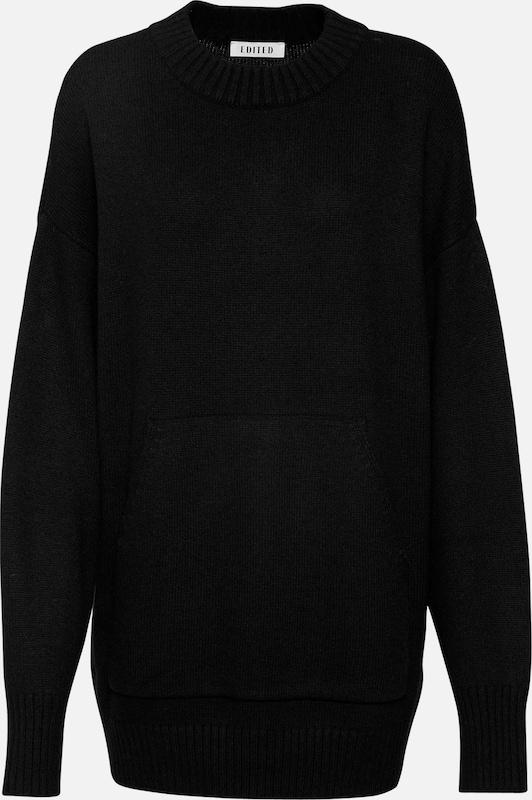 EDITED Pullover 'Ebony' in in in schwarz  Großer Rabatt f743dc