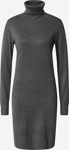 SAINT TROPEZ Knitted dress 'Mila' in Grey