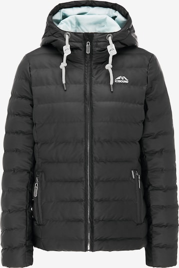 ICEBOUND Winterjacke in schwarz, Produktansicht
