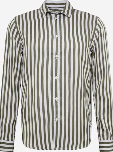 Samsoe Samsoe Hemd 'Liam NX' in beige / oliv, Produktansicht