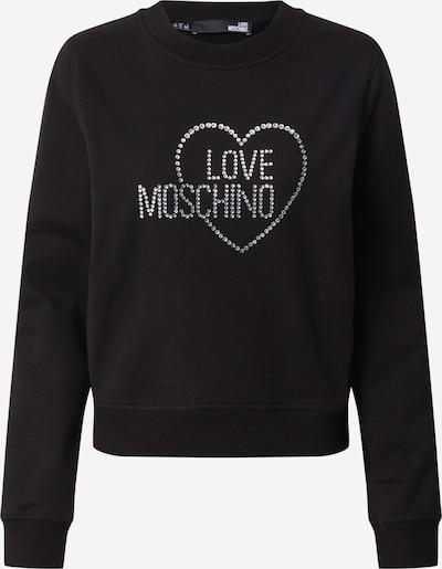 Love Moschino Sweatshirt in de kleur Zwart, Productweergave