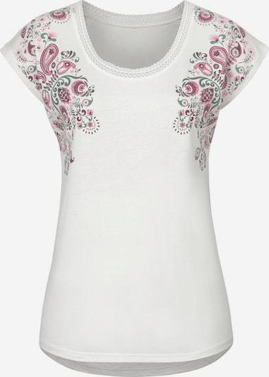 BEACH TIME T-Krekls pieejami debesu lillā / vecrozā / pērļbalts, Preces skats