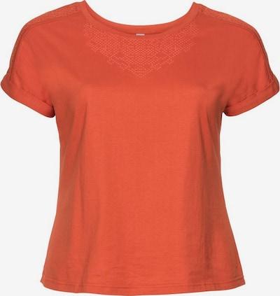 SHEEGO Sheego T-Shirt in dunkelrot, Produktansicht