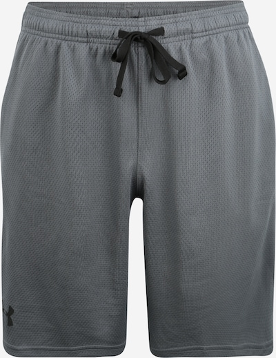 UNDER ARMOUR Sport-Hose 'UA Tech Mesh' in grau / schwarz, Produktansicht