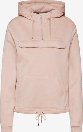 Urban Classics Sweatshirt in puder: Frontalansicht