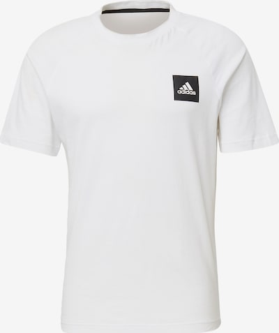 ADIDAS PERFORMANCE Functioneel shirt 'MHE Tee STA' in de kleur Zwart / Wit, Productweergave