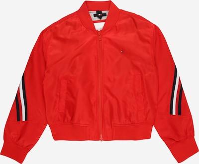 TOMMY HILFIGER Jacke in rot / schwarz / silber, Produktansicht