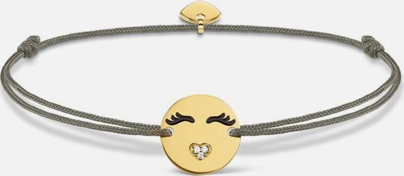 Thomas Sabo Armband 'Little Secret 'Emoticon mit Herzmund', LS045-383-5-L20v'