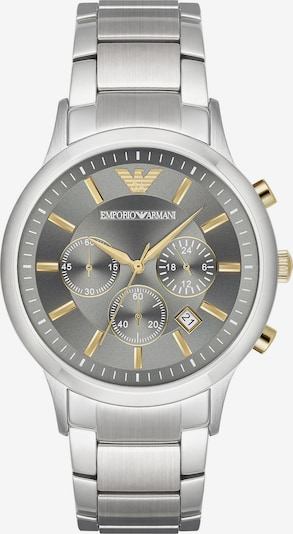 Emporio Armani Chronograph in silbergrau / silber, Produktansicht