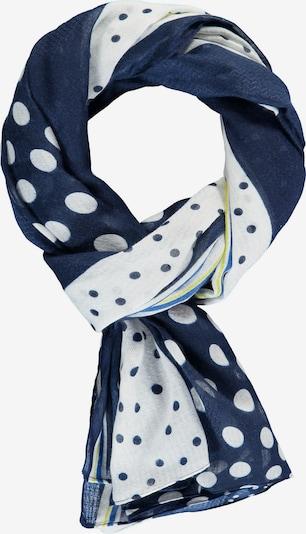 SAMOON Schal in blau / weiß, Produktansicht