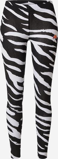 ELLESSE Leggings 'Loso' en noir / blanc, Vue avec produit