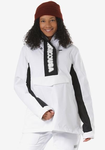 DC Shoes Snowboardjacke 'Envy' in schwarz / weiß, Produktansicht
