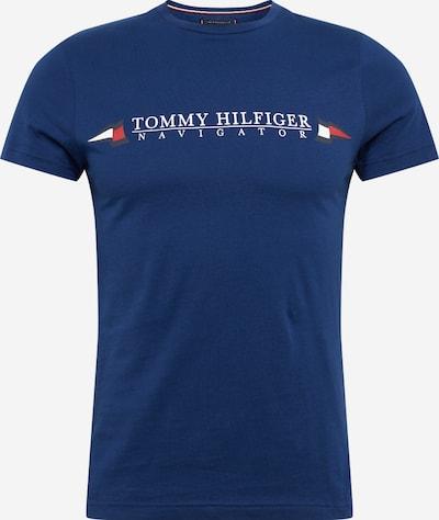 TOMMY HILFIGER T-Shirt 'Sailing Flags' en bleu foncé / rouge / blanc, Vue avec produit