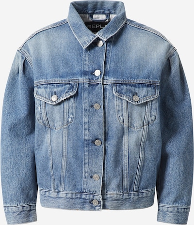 REPLAY Jacke in blue denim, Produktansicht