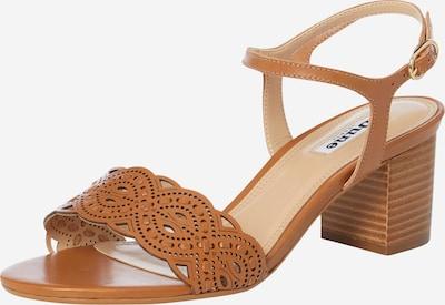 Dune LONDON Sandalette 'JELLA' in beige / cognac, Produktansicht