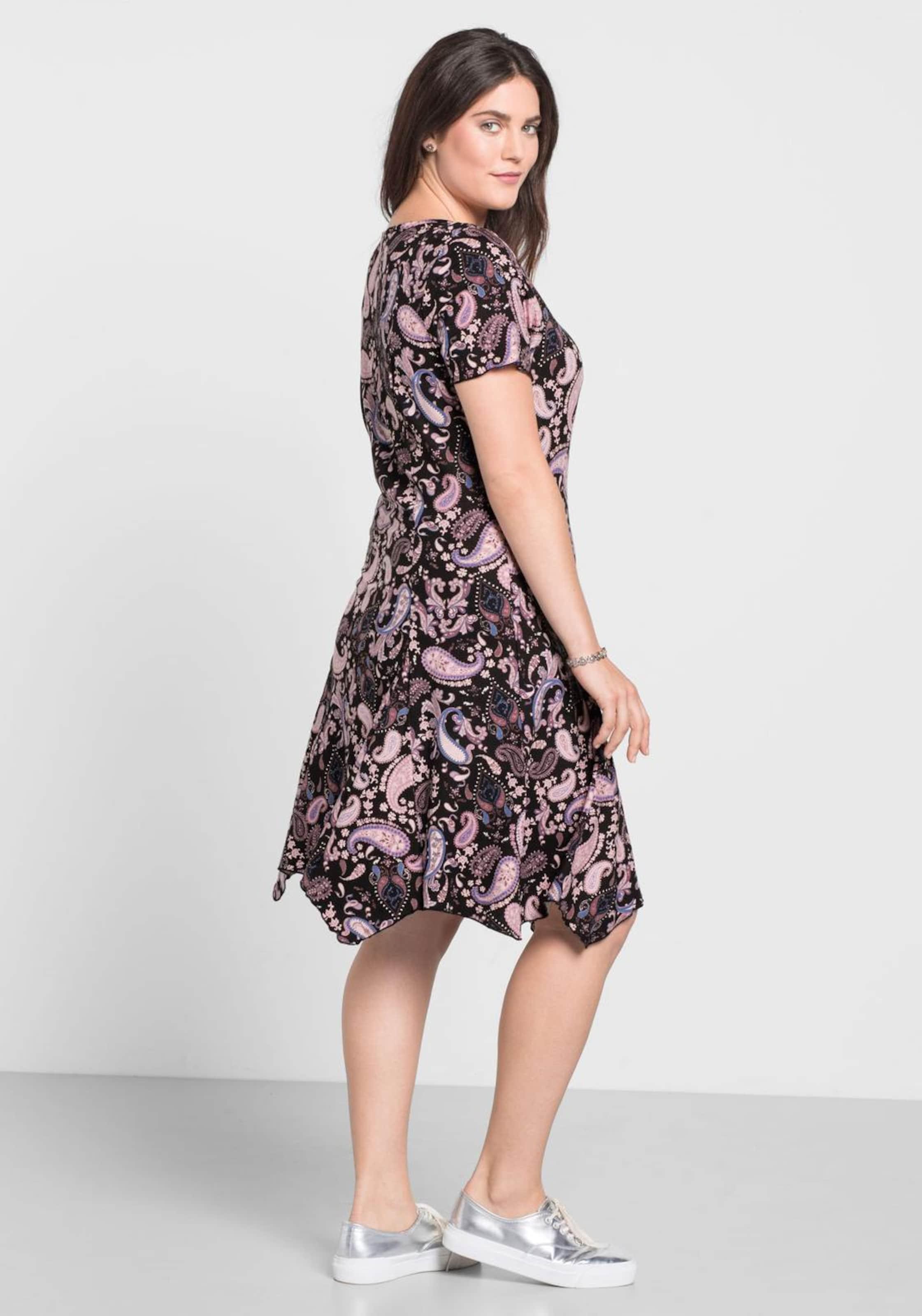Günstig Kaufen 100% Original Zum Verkauf Rabatt Verkauf sheego casual Kleid mit Paisley-Muster Auslass Offiziellen Besuchen Online-Verkauf Neu Frei Verschiffen Diqu9