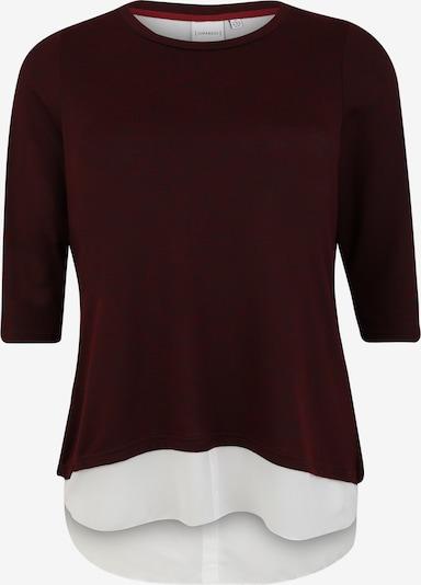 Junarose Shirt in de kleur Wijnrood, Productweergave