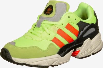 ADIDAS ORIGINALS Sneaker  'Yung-96 J W' in limette / orange / schwarz, Produktansicht