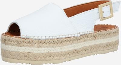 MACARENA Sandały w kolorze beżowy / białym, Podgląd produktu