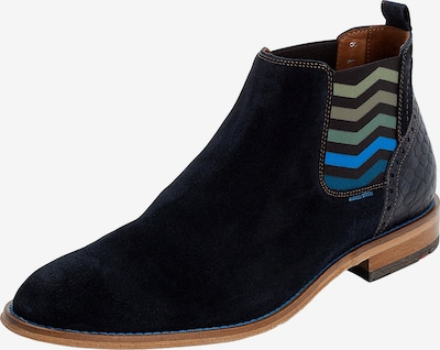 LLOYD Chelsea Boots 'HOBSON' in dunkelblau: Frontalansicht