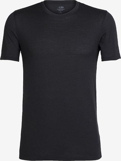 Tricou funcțional ICEBREAKER pe negru, Vizualizare produs