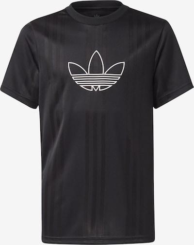 ADIDAS ORIGINALS Shirt 'Outline' in schwarz / weiß, Produktansicht