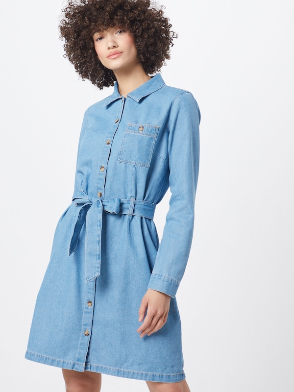 TOM TAILOR DENIM Kleid in blue denim, Modelansicht