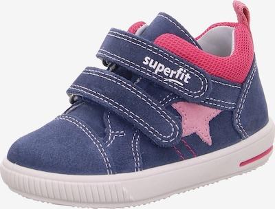 SUPERFIT Lauflernschuh 'Moppy' in blau / pink / rot, Produktansicht