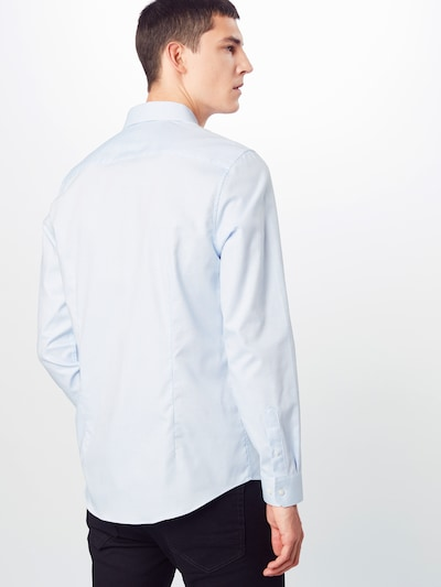 BURTON MENSWEAR LONDON Koszula biznesowa w kolorze niebieskim: Widok od tyłu