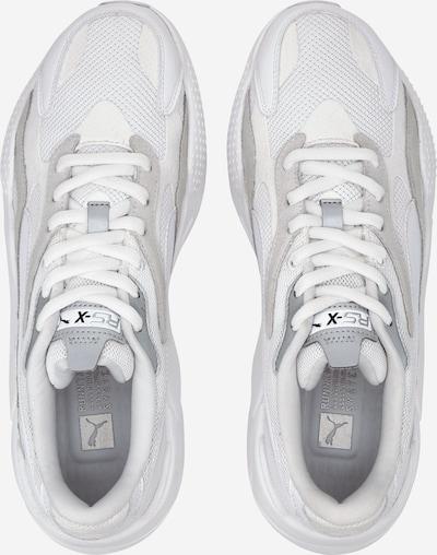 PUMA Trampki niskie 'RS-X³ PUZZLE' w kolorze srebrny / białym: Widok z góry