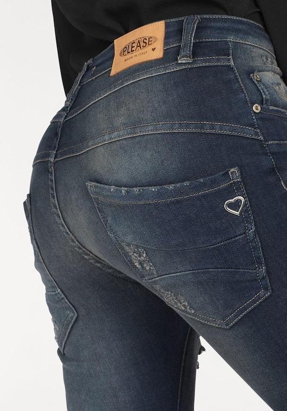 PLEASE Jeans Boyfriend-Jeans 'P47Q'