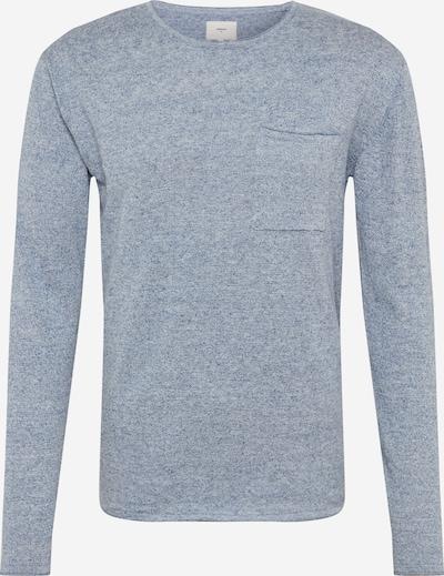 minimum Pull-over 'Helmuth' en bleu-gris, Vue avec produit