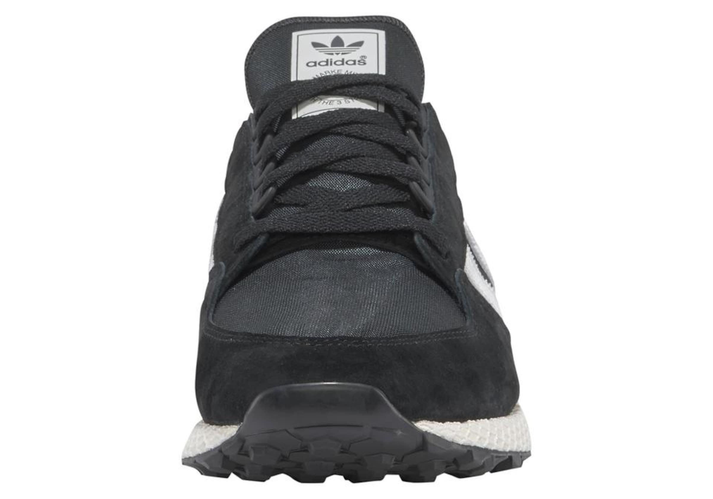 In Adidas Grove' Originals 'forest Weiß Sneaker DunkelgrauSchwarz BedCrxo