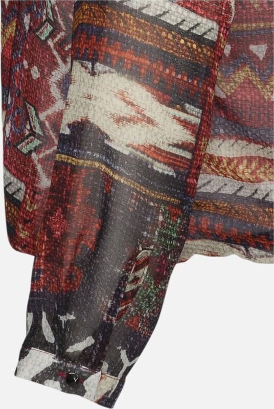 SEIDENSTICKER Fashion-Blause 'Schwarze Rosa' Rosa' Rosa' in mischfarben   rostrot  Großer Rabatt 7db10a