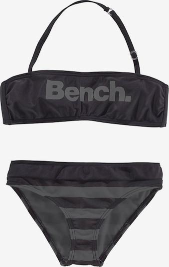 BENCH Bandeau-Bikini in schwarz, Produktansicht