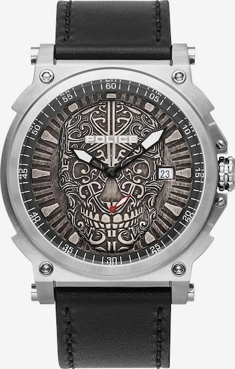 POLICE Uhr 'Compass' in schwarz, Produktansicht